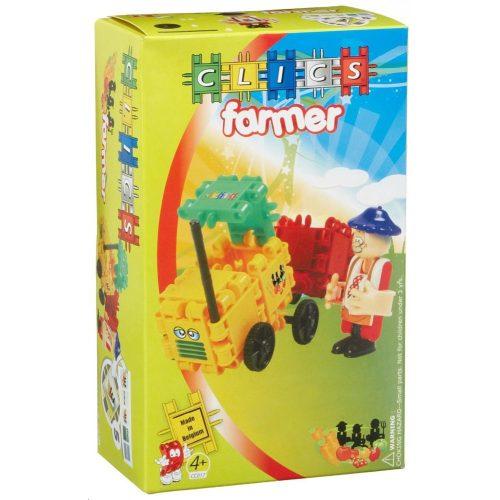 Traktor farmerrel (CC017) építőjáték