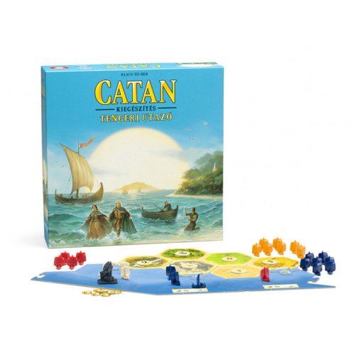 Catan telepesei Tengeri utazó társasjáték