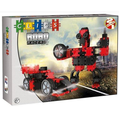 RoboRacer box fekete-piros  - 2 in 1 (AB001)  építőjáték