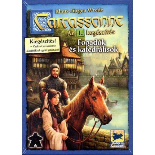 Carcassonne 1. kiegészítő - Fogadók és katedrálisok társasjáték