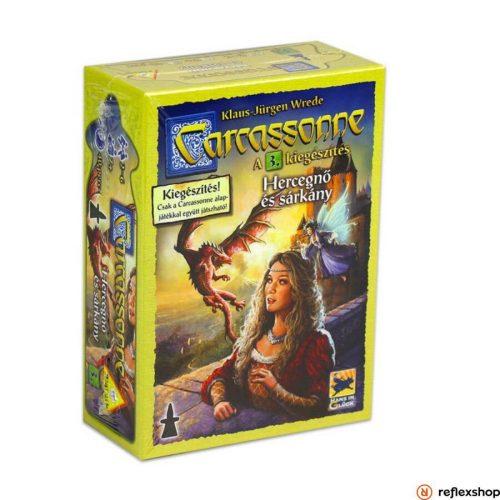 Carcassonne 3. kiegészítő - A Hercegnő és a sárkány társasjáték