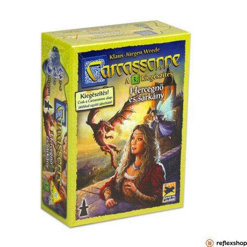 Carcassonne 3. kiegészítő - A Hercegnő és a sárkány