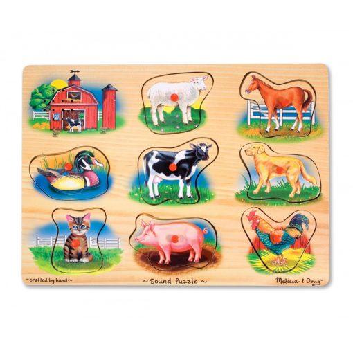 Melissa & Doug Hangos puzzle, Farm