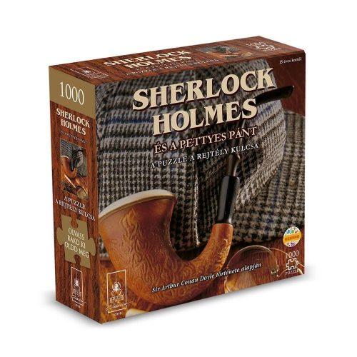 Puzzle kalandjáték- Sherlock Holmes és a pettyes pánt