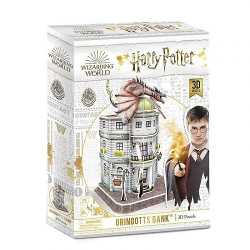 3D puzzle Harry Potter - Gringotts Bank 74 db-os