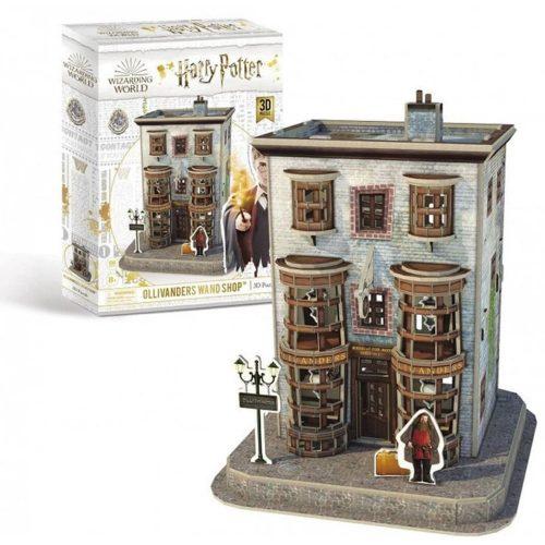 3D puzzle Harry Potter - Ollivander pálcaboltja 66 db-os