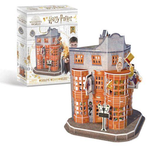 3D puzzle Harry Potter - Weasley Varázsbolt 67db-os