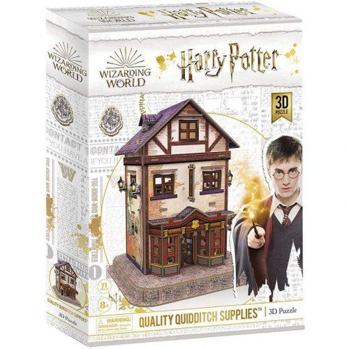 3D puzzle Harry Potter - Kviddics Sportbolt  71db-os