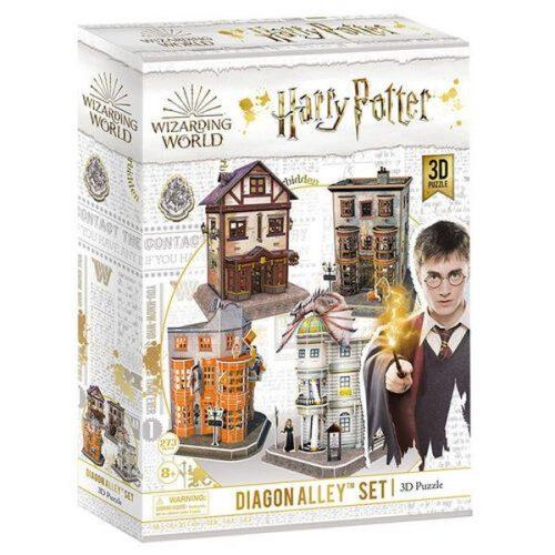 3D puzzle Harry Potter - Abszol út