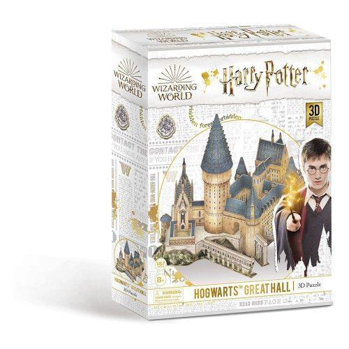 3D puzzle Harry Potter - Roxfort Nagyterem 187db-os