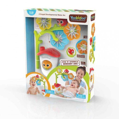 Yookidoo fürdőjáték-érzékelős fürdőkádforgó