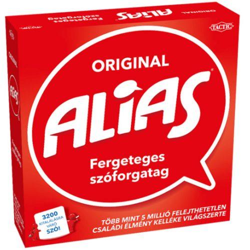 Original Alias társasjáték( sérült dobozos)