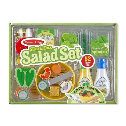 Melissa & Doug Sütés-főzés, Saláta szett
