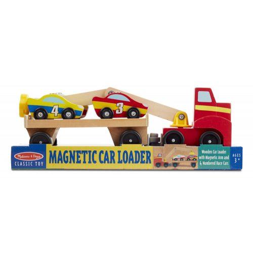 melissa&doug  fa jármű, mágneses autószállító