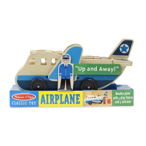 melissa&doug  fa jármű, repülő kiegésztőkkel