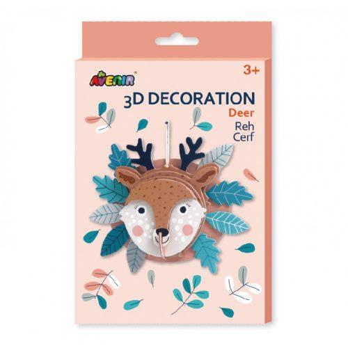 3D dekorációs puzzle, Szarvas Avenir