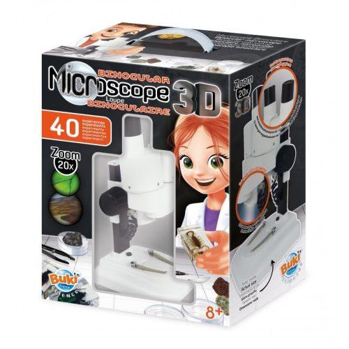 3D mikroszkóp 40 kísérlet