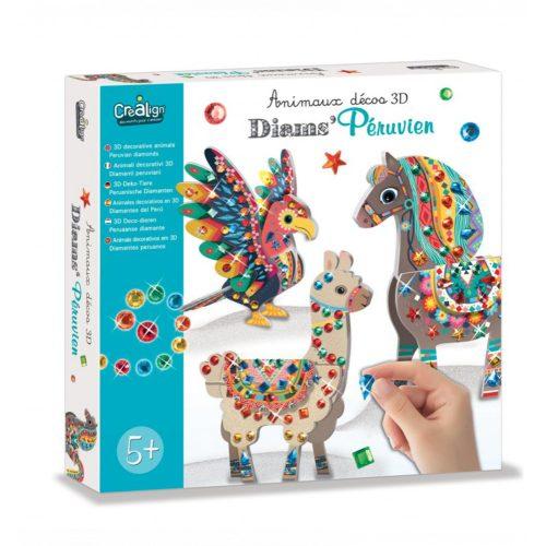 3D modellkészítés-csillogó-állatok-crealign
