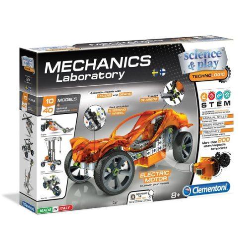 Mechanikus motorizált jármű építőjáték - 10 modell