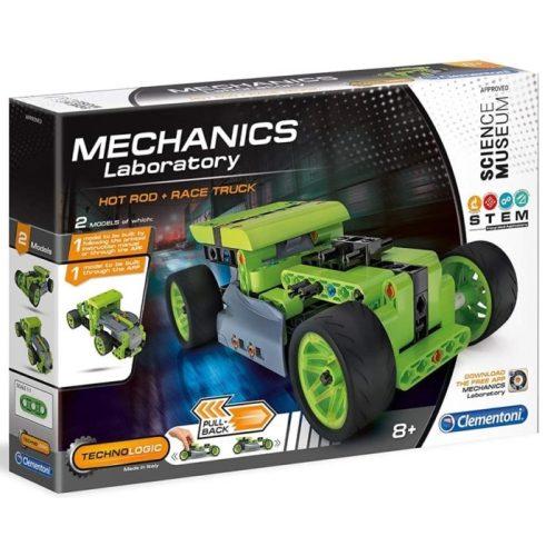 Tudomány és játék - Mechanikus Műhely - Hot rod és teherautó
