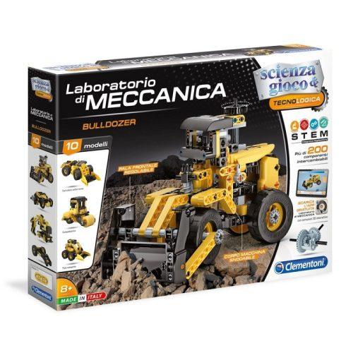 Tudomány és játék - Mechanikus Műhely -Bulldozer