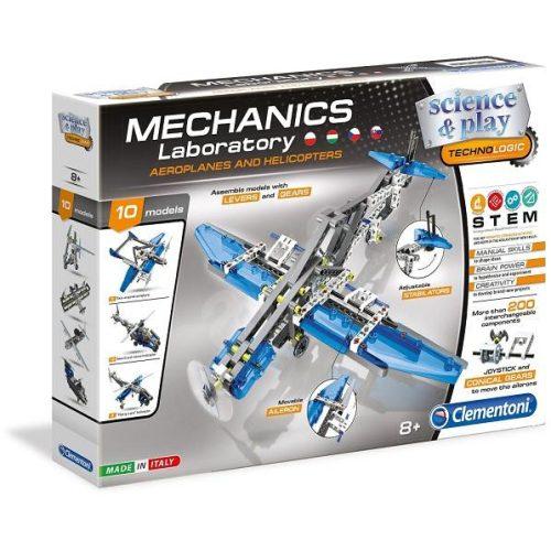 Tudomány és játék - Mechanikus Műhely - Repülők és helikopterek