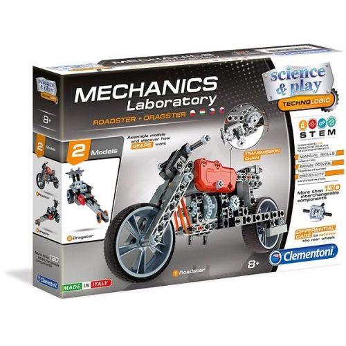 Mechanikus Labor Roadster és Dragster dozer építőjáték