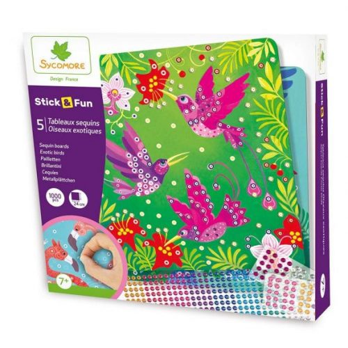 Mozaikkkep-keszito-flitterekkel-Az-eden-madarai-Sy