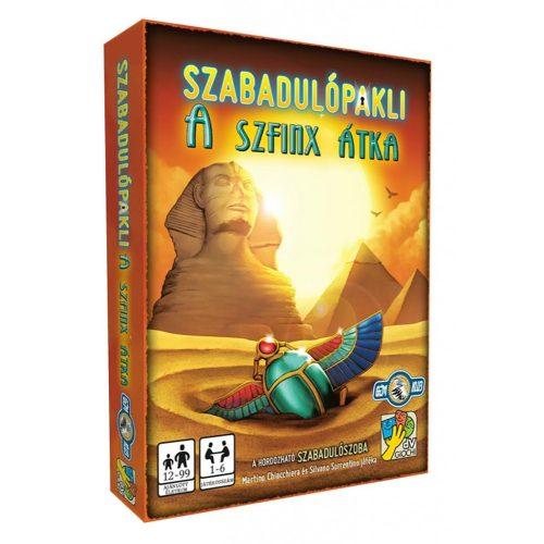 Szabadulópakli: A  szfinx átka társasjáték