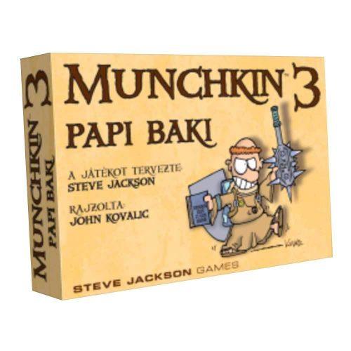 Munchkin 3 – Papi Baki társasjáték