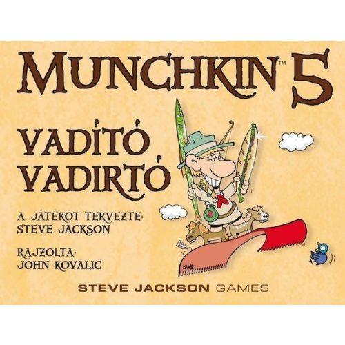 Munchkin 5 – Vadító vadirtók társasjáték