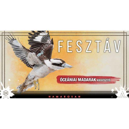 A Fesztáv: Óceániai madarak társasjáték