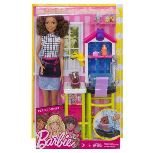 Barbie karrier játékszettek (kisállat kozmetikus)