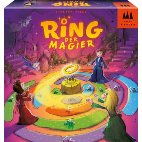 Ring der magier- a varázsló gyűrűje társasjáték