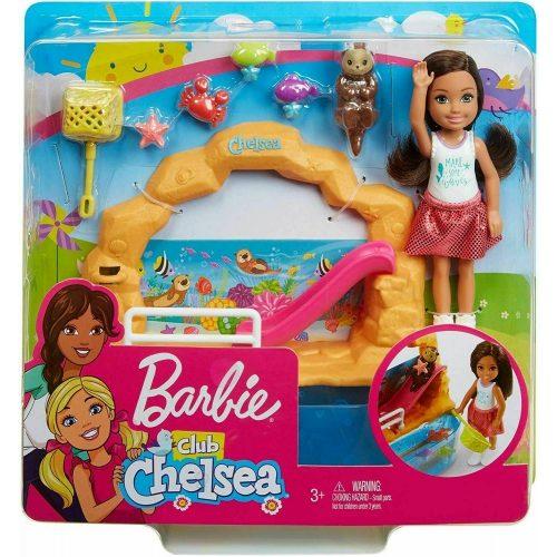 Barbie Club Chelsea - Baba és játékszett