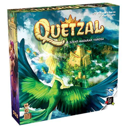 Quetzal – A szent madarak városa társasjáték