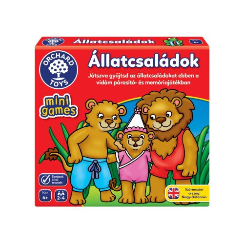 Orchard Toys Mini Játék - Állatcsaládok