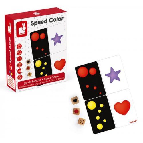 Janod Speedcolor gyorsasági játék