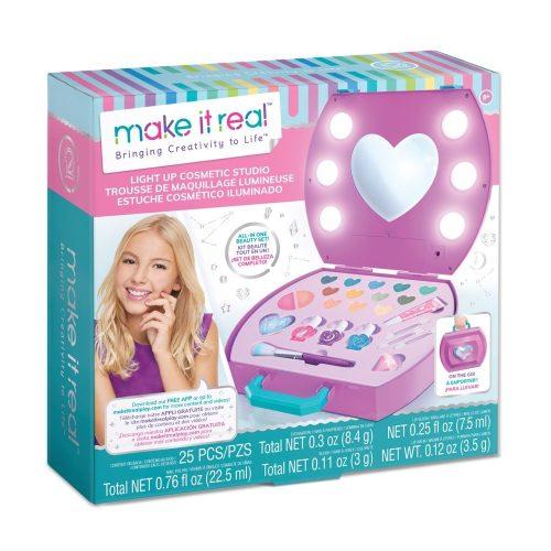Make It Real Kozmetikai táska világítással