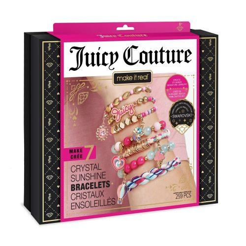Make It Real Juicy Couture & Swarovski® Kristály napfény karkötők
