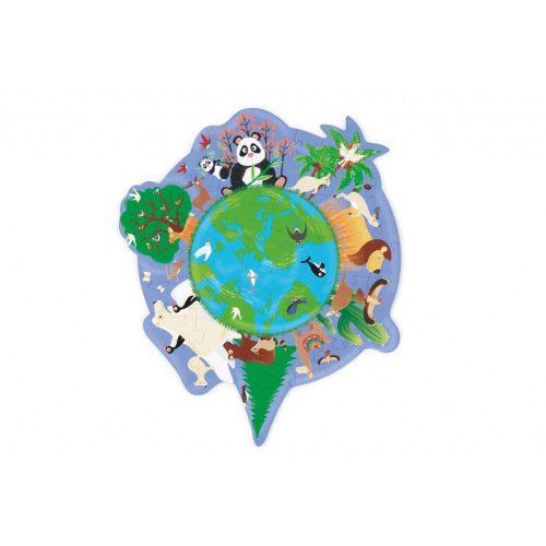 Forma puzzle-A világ