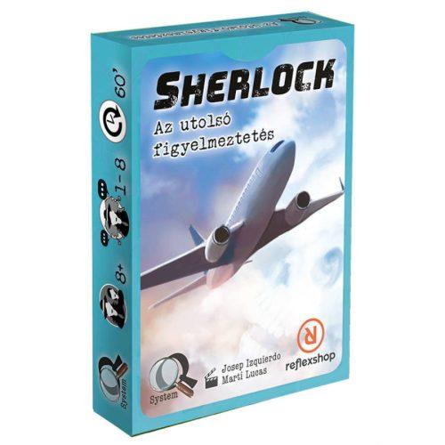 Sherlock: Az utolsó figyelmeztetés társasjáték
