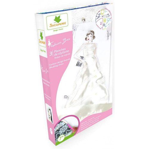 Divattervező készlet-Esküvői ruhák Sycomore
