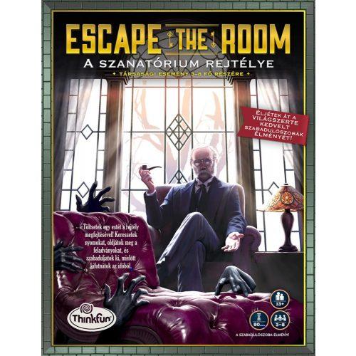 ESCAPE THE ROOM - A SZANATÓRIUM REJTÉLYE társasjáték