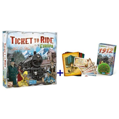 Ticket to Ride-Európa + Europe 1912 kiegészítő