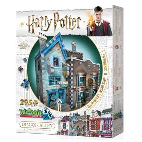 3D  puzzle Harry Potter- Mr.Ollivander pálcaboltja 295 db