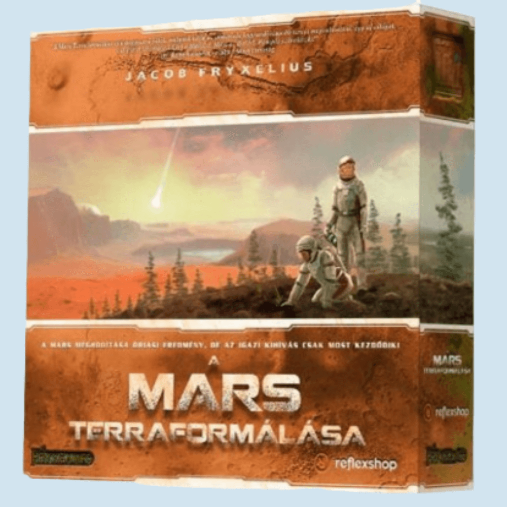 Mars terraformálása játékbemutató