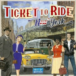 Ticket to Ride : New York társajáték ismertető